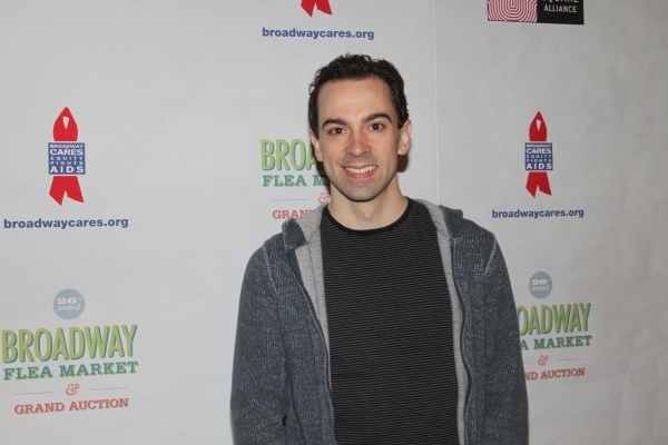 Rob McClure  at 2012 BC/EFA Flea Market - Celebrities Backstage