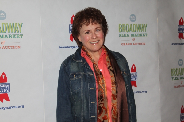 Judy Kaye  at 2012 BC/EFA Flea Market - Celebrities Backstage