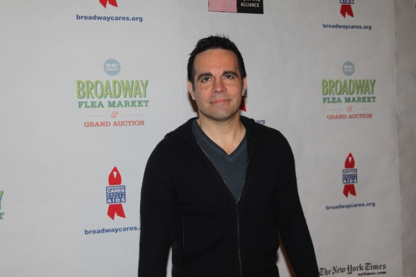 Mario Cantone  at 2012 BC/EFA Flea Market - Celebrities Backstage