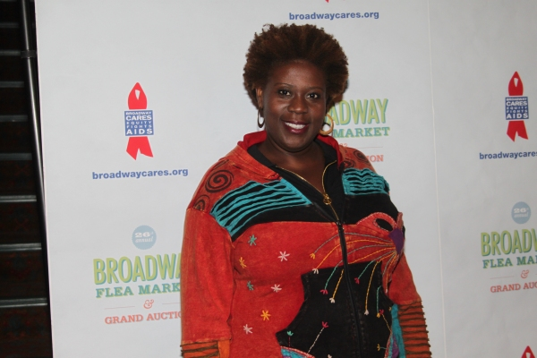 Capathia Jenkins  at 2012 BC/EFA Flea Market - Celebrities Backstage
