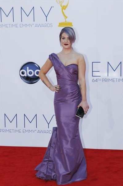 THE 64TH PRIMETIME EMMY(r) AWARDS - The 64th Primetime Emmy Awards broadcasts live from 8:00-11:00 p.m., ET/5:00-8:00 p.m., PT., Sunday, September 23, 2012 exclusively on ABC. (ABC/RICK ROWELL)KELLY OSBOURNE at 2012 Emmys Red Carpet - Part 1