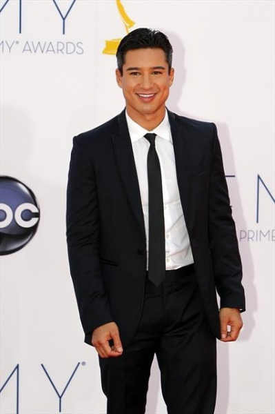 THE 64TH PRIMETIME EMMY(r) AWARDS - The 64th Primetime Emmy Awards broadcasts live from 8:00-11:00 p.m., ET/5:00-8:00 p.m., PT., Sunday, September 23, 2012 exclusively on ABC. (ABC/RICK ROWELL)MARIO LOPEZ at 2012 Emmys Red Carpet - Part 1