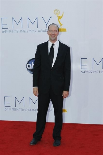 THE 64TH PRIMETIME EMMY(r) AWARDS - The 64th Primetime Emmy Awards broadcasts live from 8:00-11:00 p.m., ET/5:00-8:00 p.m., PT., Sunday, September 23, 2012 exclusively on ABC. (ABC/RICK ROWELL)TONY HALE