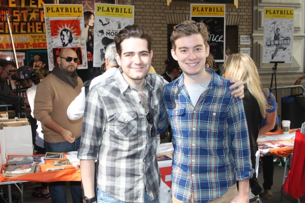 Brian Zeilinger and Tony Marion  Photo