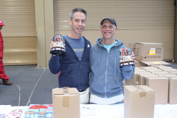 Photo Coverage: 2012 BC/EFA Flea Market - Merchandise Tables