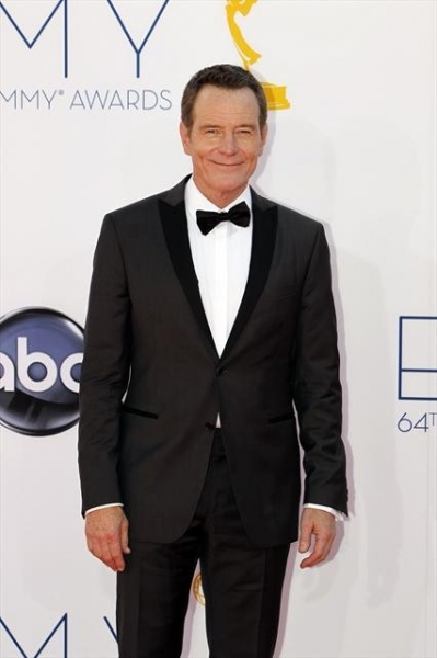 THE 64TH PRIMETIME EMMY(r) AWARDS - The 64th Primetime Emmy Awards broadcasts live from 8:00-11:00 p.m., ET/5:00-8:00 p.m., PT., Sunday, September 23, 2012 exclusively on ABC. (ABC/RICK ROWELL)BRYAN CRANSTON at 2012 Emmys Red Carpet - Part 2