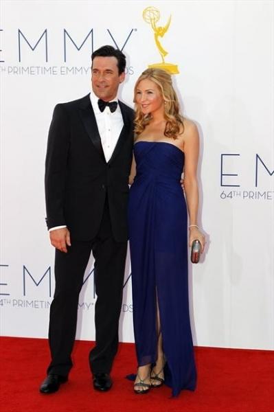 JON HAMM at 2012 Emmys Red Carpet - Part 2