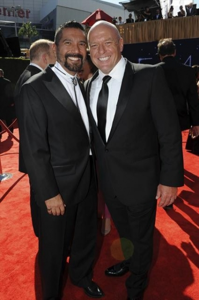 THE 64TH PRIMETIME EMMY(r) AWARDS - The 64th Primetime Emmy Awards broadcasts live from 8:00-11:00 p.m., ET/5:00-8:00 p.m., PT., Sunday, September 23, 2012 exclusively on ABC. (ABC/MATT PETIT)DEAN NORRIS