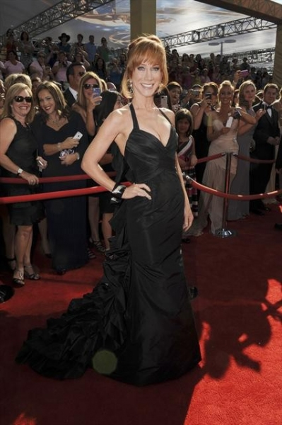 THE 64TH PRIMETIME EMMY(r) AWARDS - The 64th Primetime Emmy Awards broadcasts live from 8:00-11:00 p.m., ET/5:00-8:00 p.m., PT., Sunday, September 23, 2012 exclusively on ABC. (ABC/MATT PETIT)KATHY GRIFFIN