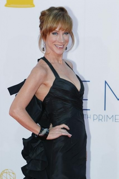 THE 64TH PRIMETIME EMMY(r) AWARDS - The 64th Primetime Emmy Awards broadcasts live from 8:00-11:00 p.m., ET/5:00-8:00 p.m., PT., Sunday, September 23, 2012 exclusively on ABC. (ABC/RICK ROWELL)KATHY GRIFFIN