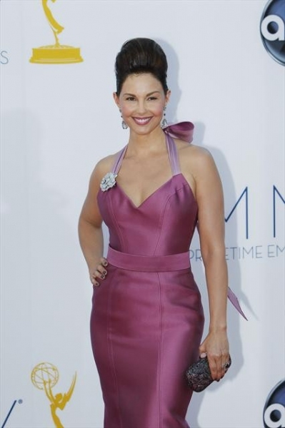 THE 64TH PRIMETIME EMMY(r) AWARDS - The 64th Primetime Emmy Awards broadcasts live from 8:00-11:00 p.m., ET/5:00-8:00 p.m., PT., Sunday, September 23, 2012 exclusively on ABC. (ABC/RICK ROWELL)ASHLEY JUDD