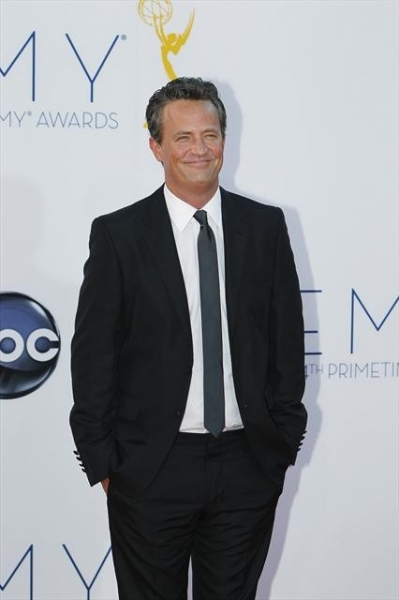 THE 64TH PRIMETIME EMMY(r) AWARDS - The 64th Primetime Emmy Awards broadcasts live from 8:00-11:00 p.m., ET/5:00-8:00 p.m., PT., Sunday, September 23, 2012 exclusively on ABC. (ABC/RICK ROWELL)MATTHEW PERRY at 2012 Emmys Red Carpet - Part 3