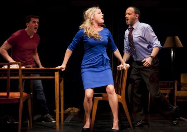 Kendra Kassebaum, Jonathan Shew and Joe Cassidy at First Look at Joe Cassidy, Kendra Kassebaum and More in ATC/San Jose Rep's NEXT TO NORMAL