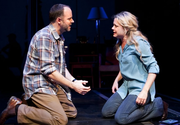 Joe Cassidy and Kendra Kassebaum at First Look at Joe Cassidy, Kendra Kassebaum and More in ATC/San Jose Rep's NEXT TO NORMAL