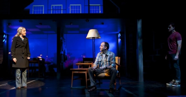 Kendra Kassebaum, Joe Cassidy and Jonathan Shew at First Look at Joe Cassidy, Kendra Kassebaum and More in ATC/San Jose Rep's NEXT TO NORMAL