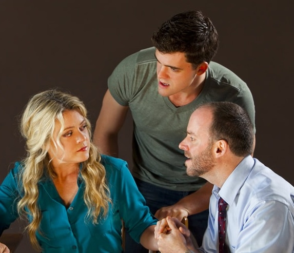 Photo Flash: First Look at Joe Cassidy, Kendra Kassebaum and More in NEXT TO NORMAL - Opening 1/10 in San Jose!