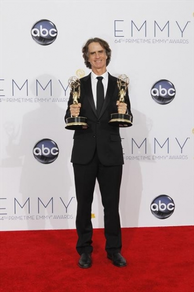 THE 64TH PRIMETIME EMMY(r) AWARDS - The 64th Primetime Emmy Awards broadcasts live from 8:00-11:00 p.m., ET/5:00-8:00 p.m., PT., Sunday, September 23, 2012 exclusively on ABC. (ABC/RICK ROWELL)JAY ROACH