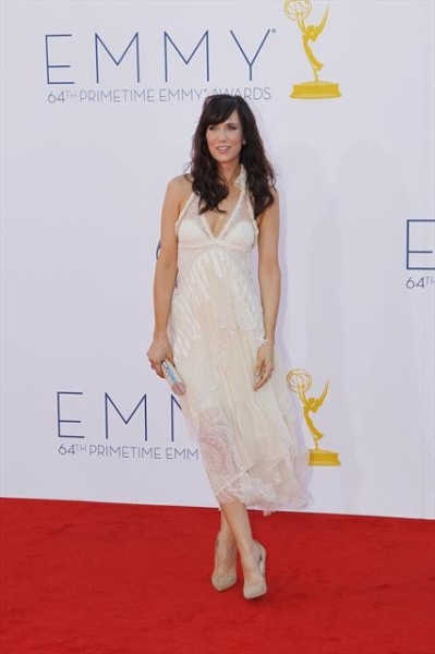 THE 64TH PRIMETIME EMMY(r) AWARDS - The 64th Primetime Emmy Awards broadcasts live from 8:00-11:00 p.m., ET/5:00-8:00 p.m., PT., Sunday, September 23, 2012 exclusively on ABC. (ABC/RICK ROWELL)KRISTEN WIIG at 2012 Emmy Awards - ALL the Winners!