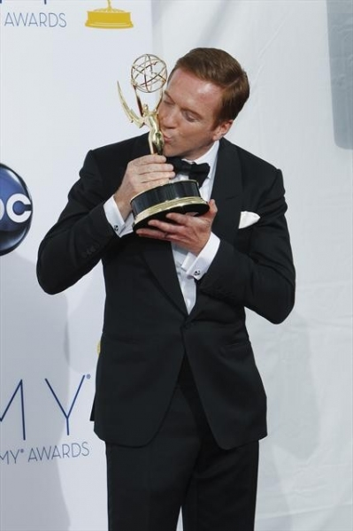 THE 64TH PRIMETIME EMMY(r) AWARDS - The 64th Primetime Emmy Awards broadcasts live from 8:00-11:00 p.m., ET/5:00-8:00 p.m., PT., Sunday, September 23, 2012 exclusively on ABC. (ABC/RICK ROWELL)DAMIAN LEWIS at 2012 Emmy Awards - ALL the Winners!