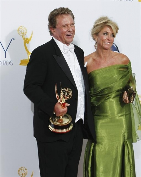THE 64TH PRIMETIME EMMY(r) AWARDS - The 64th Primetime Emmy Awards broadcasts live from 8:00-11:00 p.m., ET/5:00-8:00 p.m., PT., Sunday, September 23, 2012 exclusively on ABC. (ABC/RICK ROWELL)TOM BERENGER at 2012 Emmy Awards - ALL the Winners!