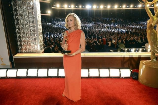 THE 64TH PRIMETIME EMMY(r) AWARDS - The 64th Primetime Emmy Awards broadcasts live from 8:00-11:00 p.m., ET/5:00-8:00 p.m., PT., Sunday, September 23, 2012 exclusively on ABC. (ABC/MATT BROWN)JESSICA LANGE