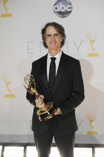 THE 64TH PRIMETIME EMMY(r) AWARDS - The 64th Primetime Emmy Awards broadcasts live from 8:00-11:00 p.m., ET/5:00-8:00 p.m., PT., Sunday, September 23, 2012 exclusively on ABC. (ABC/MATT BROWN)JAY ROACH