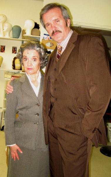Kathy St. George and George Dvorsky