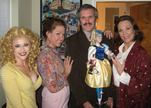 Shayla Osborn, Holly Davis, George Dvorsky, and Dee Hoty at Photo Exclusive: George Dvorsky, Dee Hoty, Kathy St. George and More in NSMT's 9 TO 5 - Exclusives!