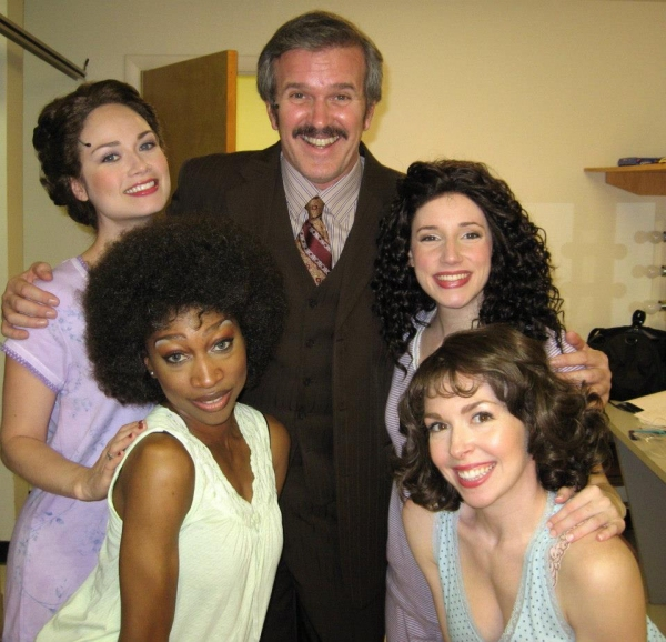 George Dvorsky with Natalie Newman, Toni Elizabeth White, Sarah M. O'Connor and Shann Photo