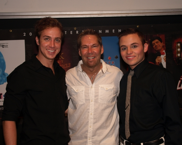 Director Dan Mojica, Luke Yellin and Seth Salsbury