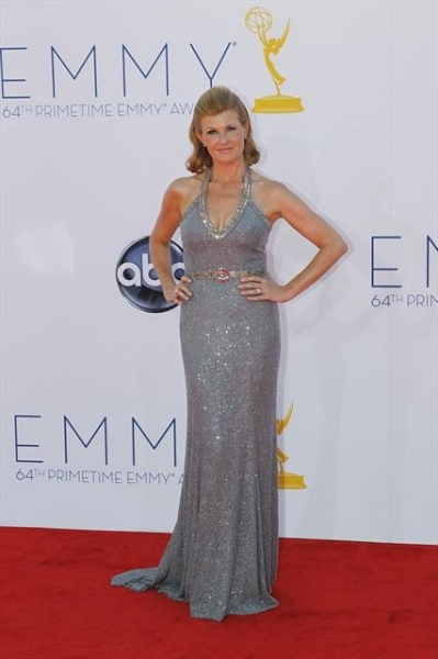 THE 64TH PRIMETIME EMMY(r) AWARDS - The 64th Primetime Emmy Awards broadcasts live from 8:00-11:00 p.m., ET/5:00-8:00 p.m., PT., Sunday, September 23, 2012 exclusively on ABC. (ABC/RICK ROWELL)CONNIE BRITTON at Emmy Red Carpet Fashion Favorites!