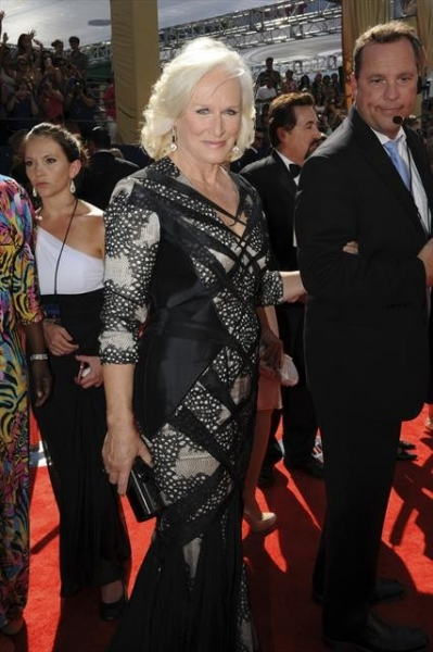 THE 64TH PRIMETIME EMMY(r) AWARDS - The 64th Primetime Emmy Awards broadcasts live from 8:00-11:00 p.m., ET/5:00-8:00 p.m., PT., Sunday, September 23, 2012 exclusively on ABC. (ABC/MATT PETIT)GLENN CLOSE at Emmy Red Carpet Fashion Favorites!