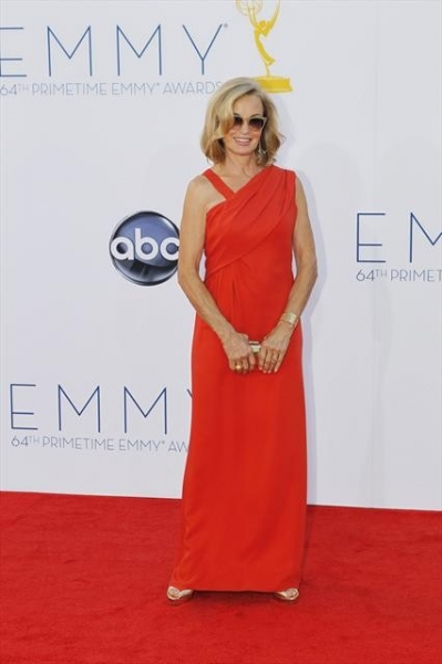 THE 64TH PRIMETIME EMMY(r) AWARDS - The 64th Primetime Emmy Awards broadcasts live from 8:00-11:00 p.m., ET/5:00-8:00 p.m., PT., Sunday, September 23, 2012 exclusively on ABC. (ABC/RICK ROWELL)JESSICA LANGE