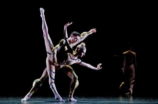 Ballet: Angular Momentum Choreographer: Aszure Barton Dancer(s): Connor Walsh and Melissa Hough