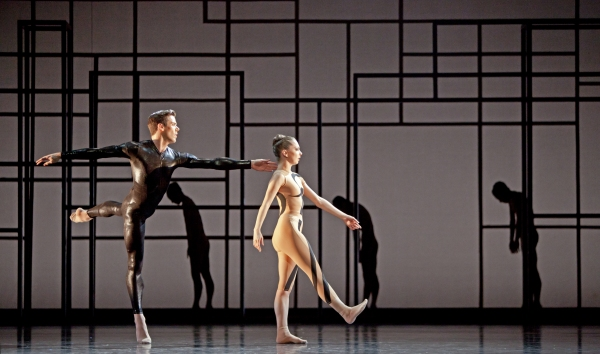 Ballet: Angular Momentum Choreographer: Aszure Barton Dancer(s): Connor Walsh and Melody Mennite