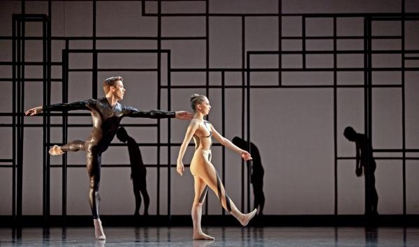 Ballet: Angular Momentum Choreographer: Aszure Barton Dancer(s): Connor Walsh and Melody Mennite