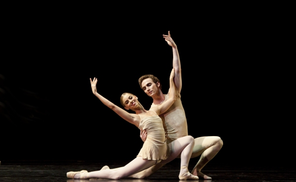 Ballet: The Brahms/Haydn Variations Choreographer: Twyla Tharp Dancer(s): Allison Miller and Rhodes Elliot