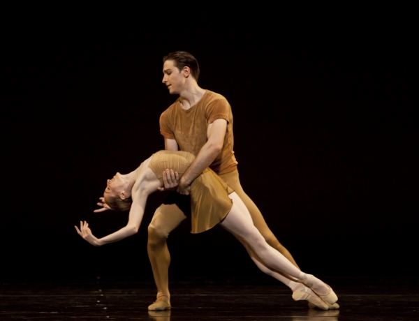 Ballet: The Brahms/Haydn Variations Choreographer: Twyla Tharp Dancer(s): Ian Casady and Sara Webb