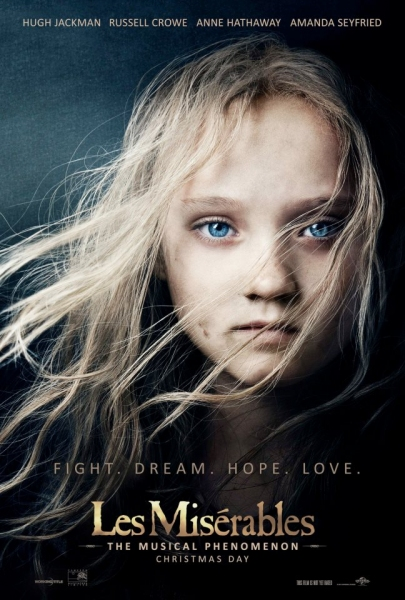 Photo Flash: New Poster Released for LES MISERABLES Film!