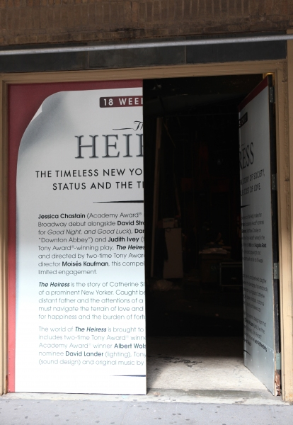 Photo Coverage: THE HEIRRESS Loads In at the Walter Kerr Theatre