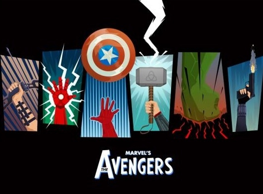 Photo Flash: First Look - Posters for THE AVENGERS Blu -ray/DVD Release