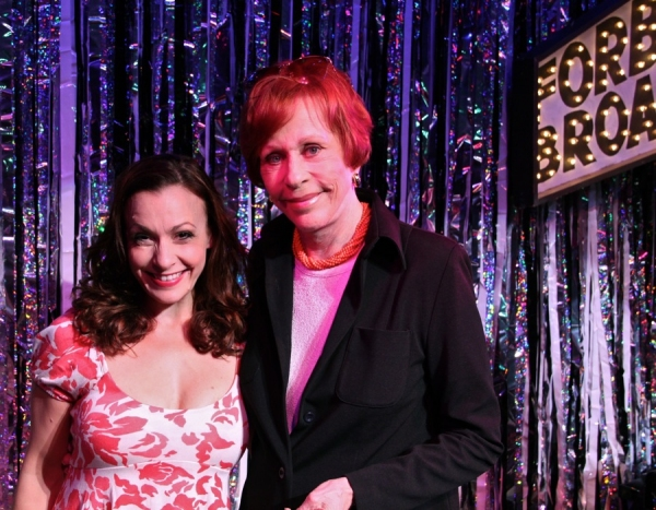 Photo Flash: Carol Burnett Visits FORBIDDEN BROADWAY!