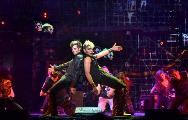 Alex Nee (Johnny) and Trent Saunders (St. Jimmy) at Meet the Cast of AMERICAN IDIOT's UK Tour, Kicking Off in October 2012!