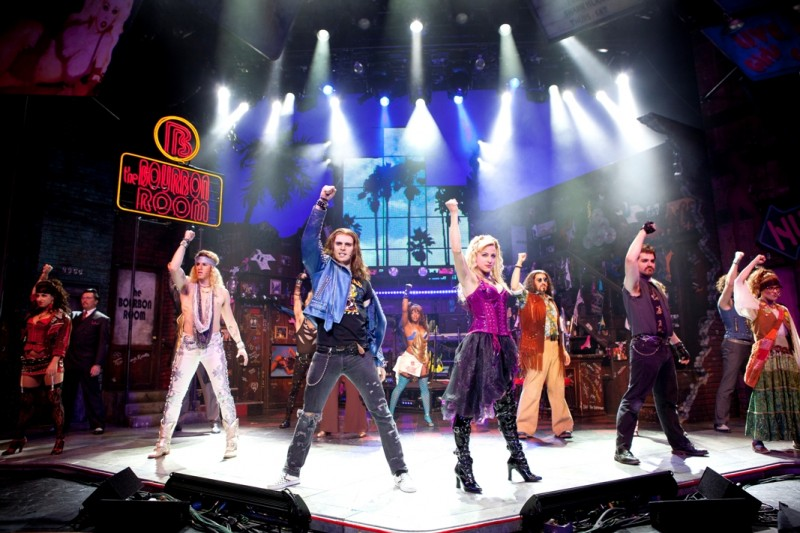 Broadway Smash ROCK OF AGES To Rock The Arsht Center Opens Tonight!