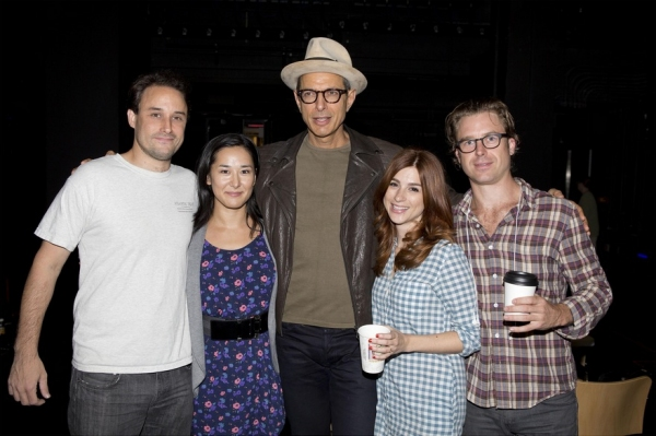 Greg Keller, Jennifer Ikeda, Jeff Goldblum, Aya Cash and Lucas Near-Verbrugghe