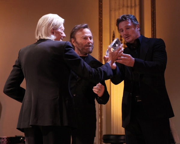 Vanessa Redgrave, Peter Nero & Liam Neeson at American Theatre Wing 2012 Gala Honors the Redgrave Family