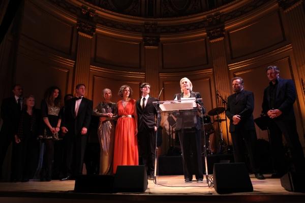 Vanessa Redgrave, Joely Richardson, Peter Nero, Liam Neeson & family