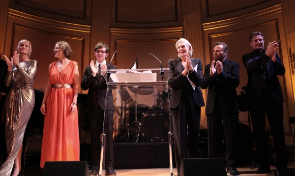 Vanessa Redgrave, Joely Richardson, Peter Nero, Liam Neeson & family at American Theatre Wing 2012 Gala Honors the Redgrave Family