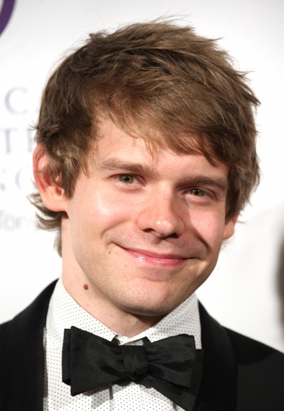 Andrew Keenan-Bolger at American Theatre Wing 2012 Gala Honors the Redgrave Family