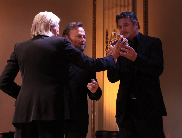 attending the American Theatre Wing's annual gala at the Plaza Hotel on Monday Sept. Photo